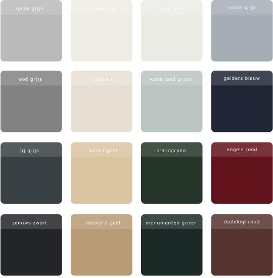 authentieke kleuren foto 1
